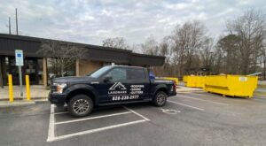 Landmark Roofing Truck